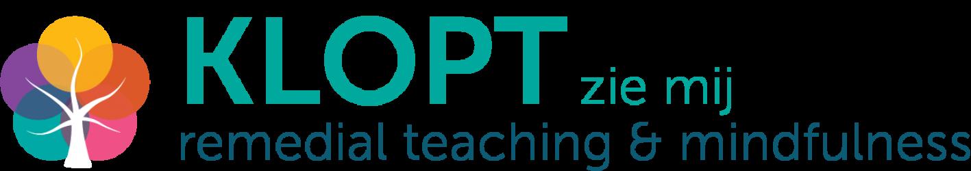 KLOPT Remedial teaching en mindfulness